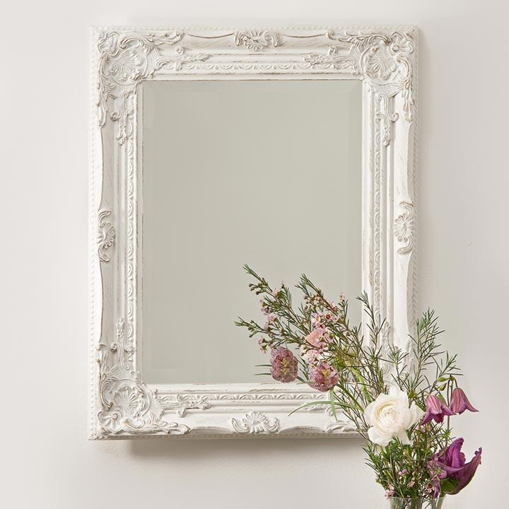 Beautiful Distressed Vintage Style Wall Mirror | Hand Crafted Mirrors